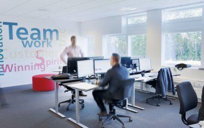 Jobtilfredshed starter med kontormiljøet